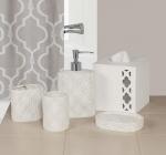 Аксессуары для ванной настольные. Chainlink керамические настольные аксессуары для ванной