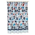 Текстиль для детей: полотенца, халаты, постельное бельё и др.. Шторка для ванной Pirates SCB-115-PRT-MUL