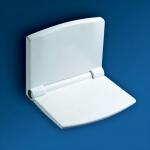 Банкетки для ванной Пуфы Интерьерные Табуреты для душа и ванной Откидные сиденья. SANIT Сиденье с микролифтом для душевой кабины