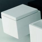 Унитазы Биде. Унитаз Althea Ceramica Design Plus 40062 подвесной