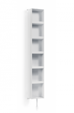 Пеналы Колонки Шкафчики Тумбы. Парящий шкаф, угол поворота 360 градусов, 6 полочек 8058.09