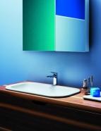 Раковины. Azzurra Glaze GLZ 69x38/IN Раковина встраиваемая