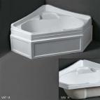 Ванны. Simas Vasche da bagno VAT14Ванна угловая с панелью 140x140 см
