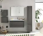 Мебель для ванной комнаты. Eban Paola&Chiara 100 мебель для ванной GRIGIO