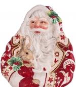 Новый Год. Блюдо — пано с Дедом Морозом от Lamart art.29010