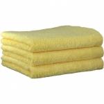 "Хлопковые полотенца.          Полотенце CAWO ""Life Style"" 7007 Цитрон"