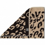 """Хлопковые полотенца.          Полотенце CAWO """"Leopard"""" 563 Коричневый"""