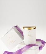 Ароматические свечи Парфюм для дома Диффузоры. Ароматическая свеча Confession коллекции Fleur de Paris от C'Toi