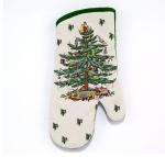 Прихватки, варежки для кухни. Прихватка-рукавица Spode Christmas Tree 22774OM