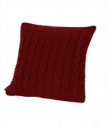 Декоративные подушки. Декоративная подушка Boston (40х40) бордовый от Casual Avenue