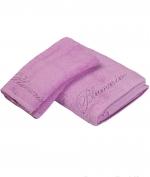 Полотенца хлопковые Deluxe. Комплект полотенец 1+1 Top Model Розовый от Blumarine Art.78572-02