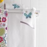 Текстиль для детей: полотенца, халаты, постельное бельё и др.. Полотенце для рук Butterflies BEM-110-BUT-W
