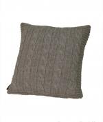Декоративные подушки. Декоративная подушка Boston (40х40) льняной (warm gray) от Casual Avenue