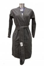 Халаты Одежда для бани и сауны.          Халат Спа. Серый