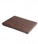 Постельное бельё Deluxe. Комплект полутороспальный Складки/Габриэлла Ореховый/Шоколадный от Catherine Denoual Maison
