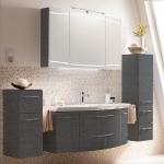Мебель для ванной комнаты. Pelipal Cassca Комплект подвесной мебели 1210 мм, декор: графит