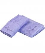 Полотенца хлопковые Deluxe. Комплект полотенец 1+1 Top Model Синий от Blumarine Art.78572-19