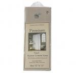 Шторки для душа и ванны текстильные. Защитная шторка Premium 4 Gauge Linen натуральная