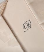 Постельное бельё Deluxe. Постельное белье Bianca двуспальное с двумя простынями от Blumarine Art.77375-05
