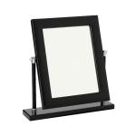 Зеркала косметические с подсветкой увеличением настенные настольные Зеркала с присосками. Vanity black by Riviere зеркало настольное кожаное
