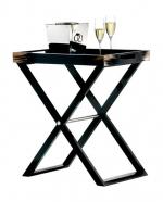 Журнальные Приставные Кофейные столы. Стол Horn & lacquer by Arca тёмный