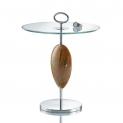 Журнальные Приставные Кофейные столы. Стол Horn & lacquer Black by Arca Olbia стеклянный