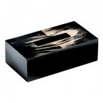 Салфетницы настольные настенные. Аксессуары для ванной настольные Horn & lacquer Ivory by Arca салфетница тёмная