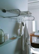 Полки для душа Сетки Полки для ванной стеклянные Полки для полотенец. Полка для полотенец с крючками Napie Lineabeta