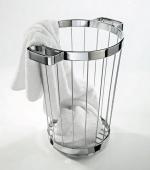 Зеркала косметические с подсветкой увеличением настенные настольные Зеркала с присосками. Корзина для белья металлическая с ручками Towel Basket Decor Walther