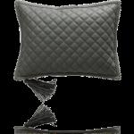 Декоративные подушки Deluxe. Подушка Quilted Leather Taupe