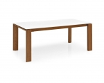 Раскладные столы. Стол OMNIA GLASS LV 140