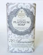 Luxury Гель для душа Мыло. NESTI DANTE 70-TH ANNIVERSARY Luxury PLATINUM Soap Юбилейное Платиновое мыло 250 гр