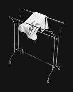 Стойки напольные с бумагодержателем, полотенцедержателем, ёршиком и высокие. Стойка для полотенец Cristal et Bronze