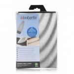 Аксессуары для стирки и глажки. Сменный чехол для гладильной доски 135х45см (размер D) со слоем из поролона 2мм и жаропрочной зоной для утюга