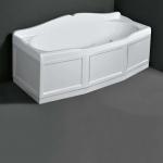Ванны. Simas Vasche da bagno VAT18 Ванна прямоугольная 180x80 см с панелью, цвет белый