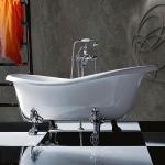 Ванны на ножках. TW 176 Ванна на лапах, белый/хром