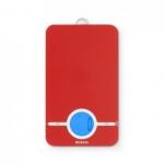 Весы напольные для ванной и сауны. Цифровые кухонные весы Red красные