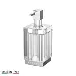 Аксессуары для ванной с кристаллами Swarovski. Дозатор жидкого мыла настольный LINEAG TIFFANY LUX TIF 918
