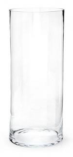 Вазы. Ваза TUBE стеклянная 50 см