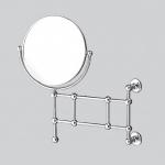 Devon&Devon First Class косметическое зеркало настенное с увеличением 1х2 двухстороннее Хром, Золото и Бронза