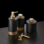 Аксессуары для ванной настольные. Club Decor Walther аксессуары для ванной бронза и матовое золото