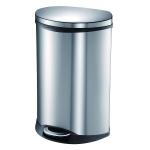 Мусорные баки и вёдра для кухни. EKO мусорное ведро с педалью из нержавеющей стали 10, 18, 30 и 50 литров