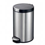 Мусорные баки и вёдра для кухни. EKO мусорное ведро с педалью из нержавеющей стали 12, 20 и 30 литров