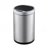 Сенсорные вёдра и баки для мусора. EKO сенсорное ведро для мусора стальное 12 литров круглое
