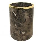 Ёршики для унитаза напольные и настенные. Palace Emperador Gold мраморное ведро Золото