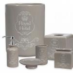 Коврики для ванной комнаты. Керамические аксессуары для ванной настольные Creative Bath Royal Hotel