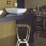 Банкетки для ванной Пуфы Интерьерные Табуреты для душа и ванной Откидные сиденья. Gessi MIMI табурет для ванной золотой GOLD