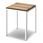 Мебель и Аксессуары для ванной из натурального дерева, Раттана и Бамбука.  Тик табурет для ванной деревянный