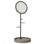 Зеркала косметические с подсветкой увеличением настенные настольные Зеркала с присосками. Arborea настольное зеркало с лотком и держателями Бронза