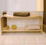 Банкетки для ванной Пуфы Интерьерные Табуреты для душа и ванной Откидные сиденья. RIEKE Nicol банкетка для ванной деревянная с полкой большая